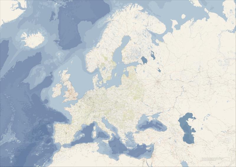 Europakarte OSM