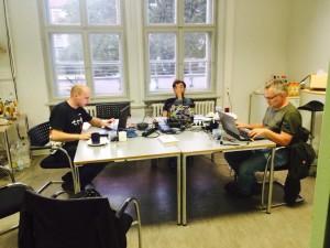 Lars, Tobias, Markus